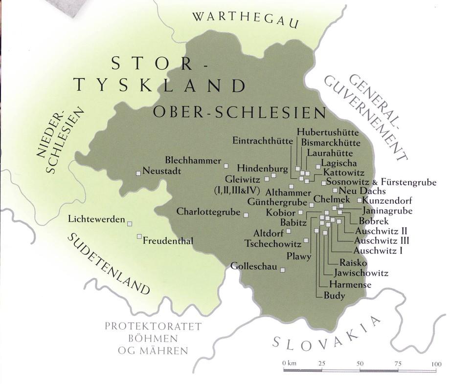 kart over auschwitz Om Auschwitz kart over auschwitz